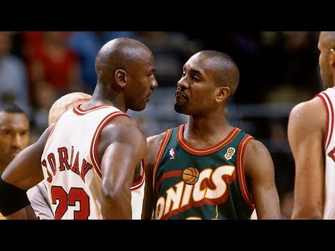 1996 NBA Finals - Game 6 - Seattle SuperSonics @Chicago Bulls - United Center