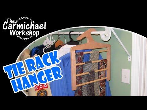 tie-rack-hanger---classy-necktie-organizer