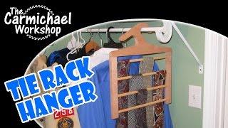 Tie Rack Hanger - Classy Necktie Organizer