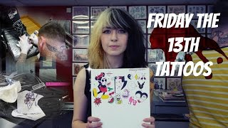 Friday The 13th, $13 Tattoos! Tattoo Talk Tuesday!