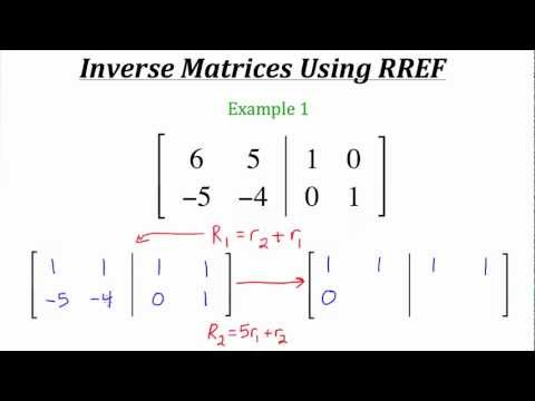 Understanding Matrix Algebra