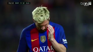 Lionel messi vs deportivo alaves (home) 16-17 hd 720p by irammessitv