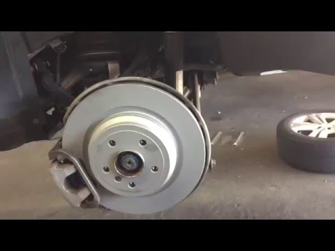 how to replace rear brakes 2013 mercedes benz ml350 youtube. Black Bedroom Furniture Sets. Home Design Ideas