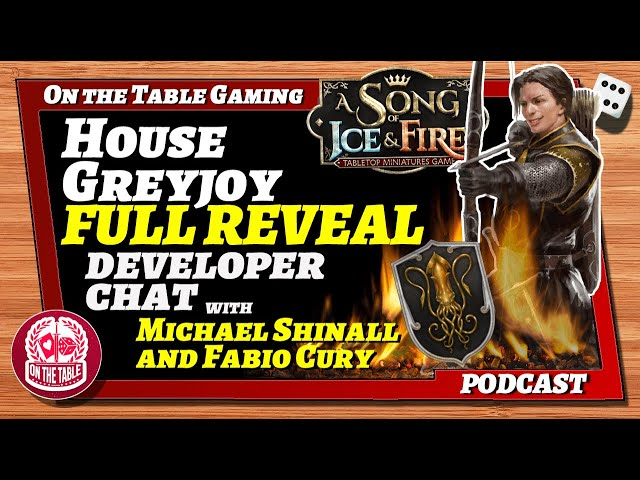 ASOIAF TMG Visions in the Flames 2021 Part 16: Greyjoy Full Faction Reveal and Developer Chat