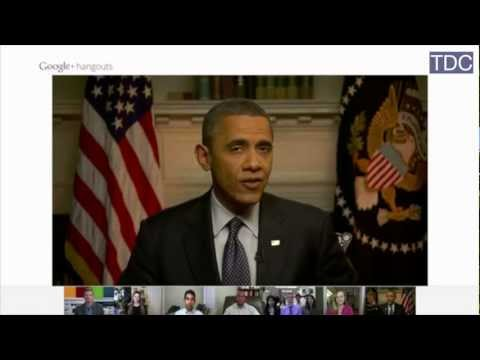 """How Obama's Working for a Living Wage for Americans - """"Hangout"""" (Part 2)"""
