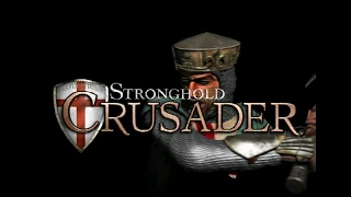 Stronghold Crusader gameplay (PC Game, 2002)