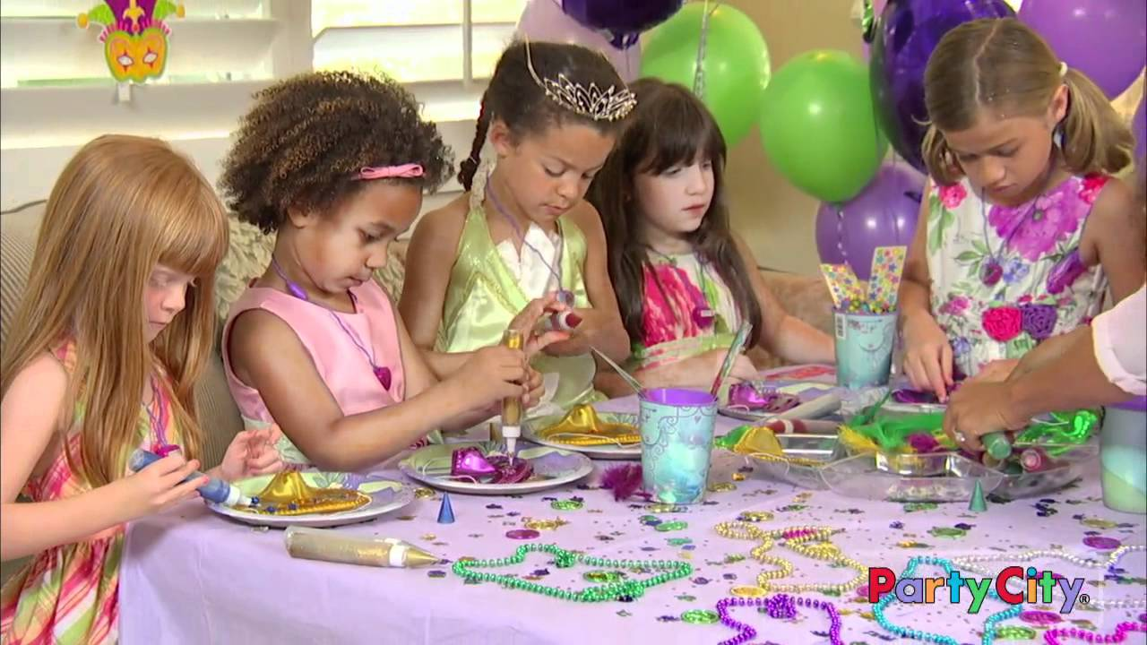 Princess And The Frog Birthday Party Ideas Youtube