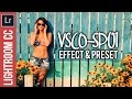 Lightroom Tutortial: Create a VSCO-SP01 Inspired Effect