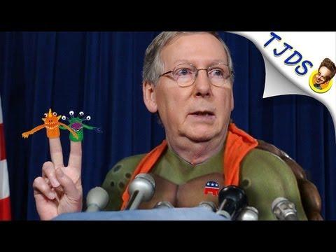 Mitch McConnell, Hypocrite Turtle (TJDS)