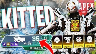 I Made My Own KITTED Prowler Then Ruined It... - PS4 Apex Legends