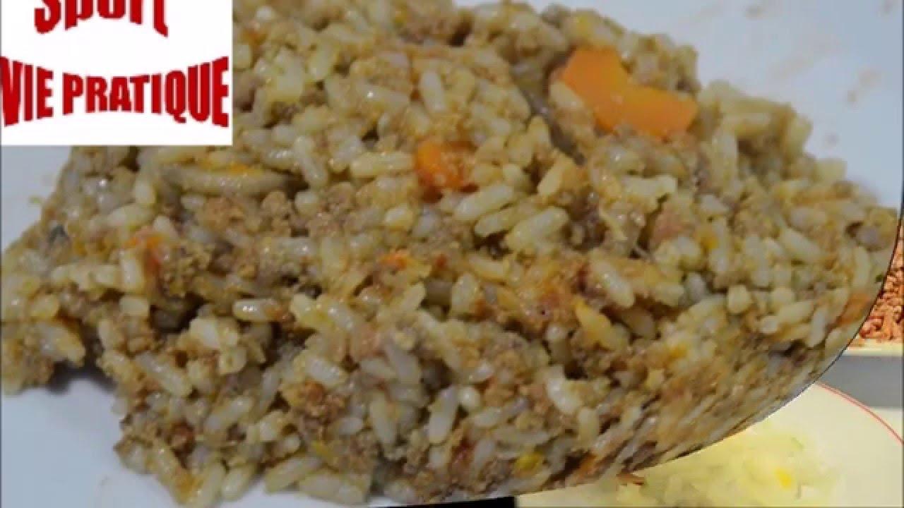 Recette cookeo : riz bolognaise - YouTube