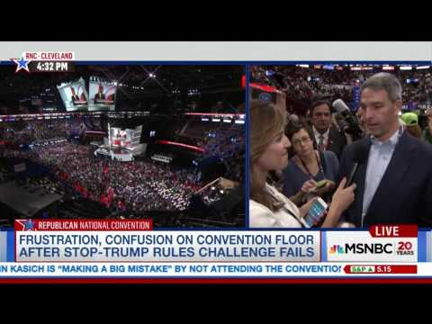 "Ken Cuccinelli on RNC & Trump nomination - ""They cheated. That's what you just saw."" (7.18.16)"