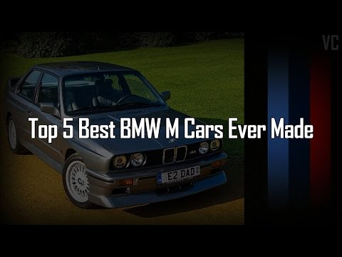 Top 5 Best Bmw M Cars Ever Made 1972 2016