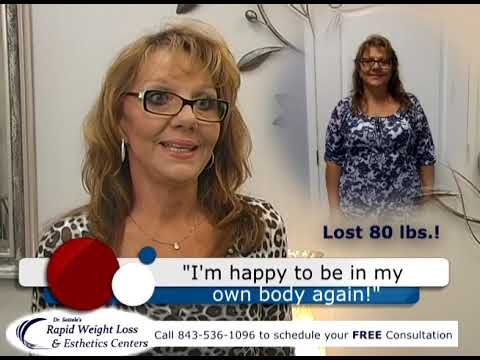 80lbs Of Weight Loss Amazing Transformation Local Weight Loss Clinic In Florence Sc Youtube