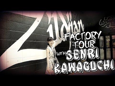 Zildjian Factory Tour with Senri Kawaguchi