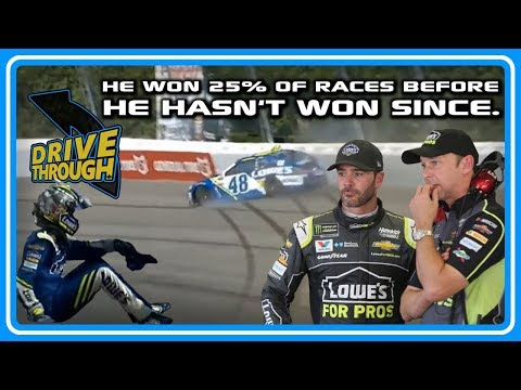 The Crash That Ended Jimmie Johnson's Winning Days