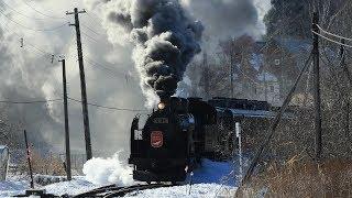 C11171「SL冬の湿原号」2019塘路発車
