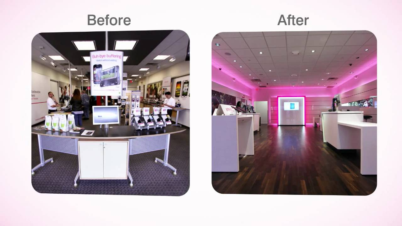 T Mobiles New Store Design Youtube