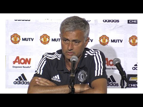 LA Galaxy 2-5 Manchester United - Jose Mourinho Post Match Press Conference - Man United Tour 2017
