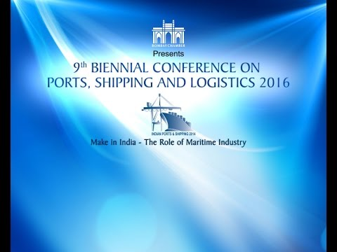 """Make in India -Role of Maritime Industry""-ET NOW coverage of 9th Intenational Shipping Conference"