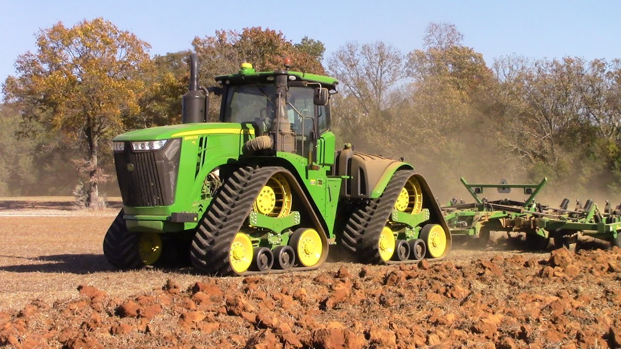 John Deeres Largest Tractor 620 Hp 9620rx Youtube