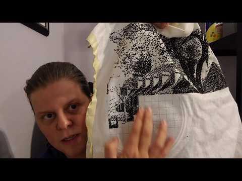 FlossTube #37: WIP progress! New plans! New t-shirt!