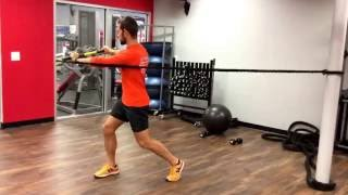 TRX Rip trainer rotation