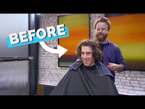 men's-medium-length-haircut-and-styling-(scissors,-razor,-diffuser-&-gel)