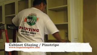 Cabinet Glazing | Kitchen Cabinet Refinishing | Dallas Ft. Worth Texas