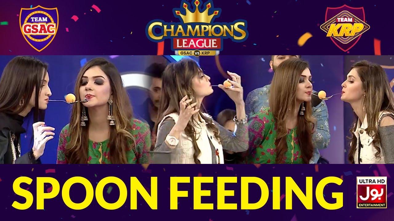 Spoon Feeding | Champions League | Game Show Aisay Chalay Ga vs Khush Raho Pakistan