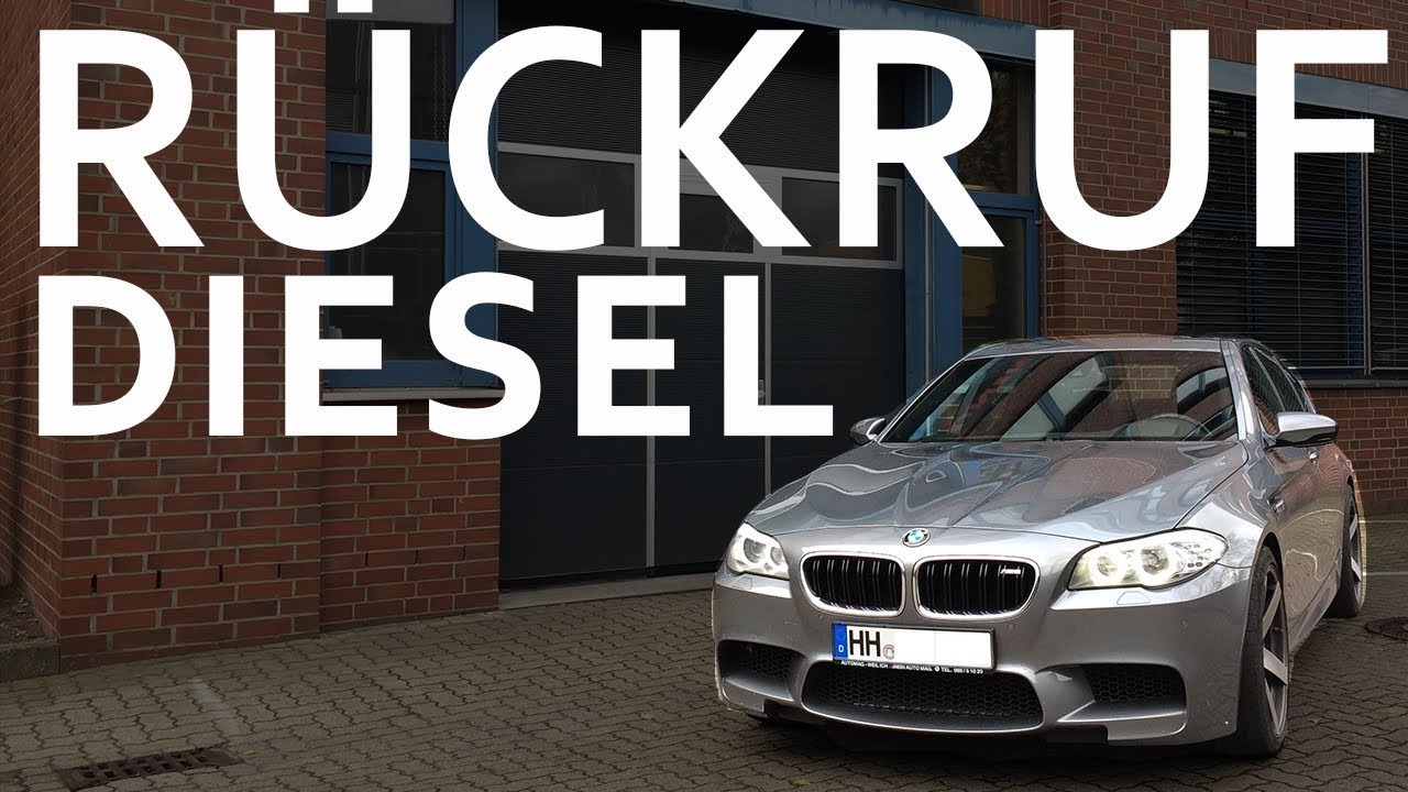 Rückrufaktion Bmw Brandgefahr I F30 F31 Diesel Youtube