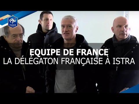 Equipe de France, Didier Deschamps au camp de base des Bleus à Istra, reportage I FFF 2017