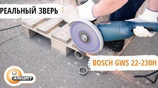шлифовальная машина Bosch GWS 22-230 H