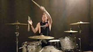 Landon Hall - Bon Jovi - You Give Love A Bad Name Drum Cover