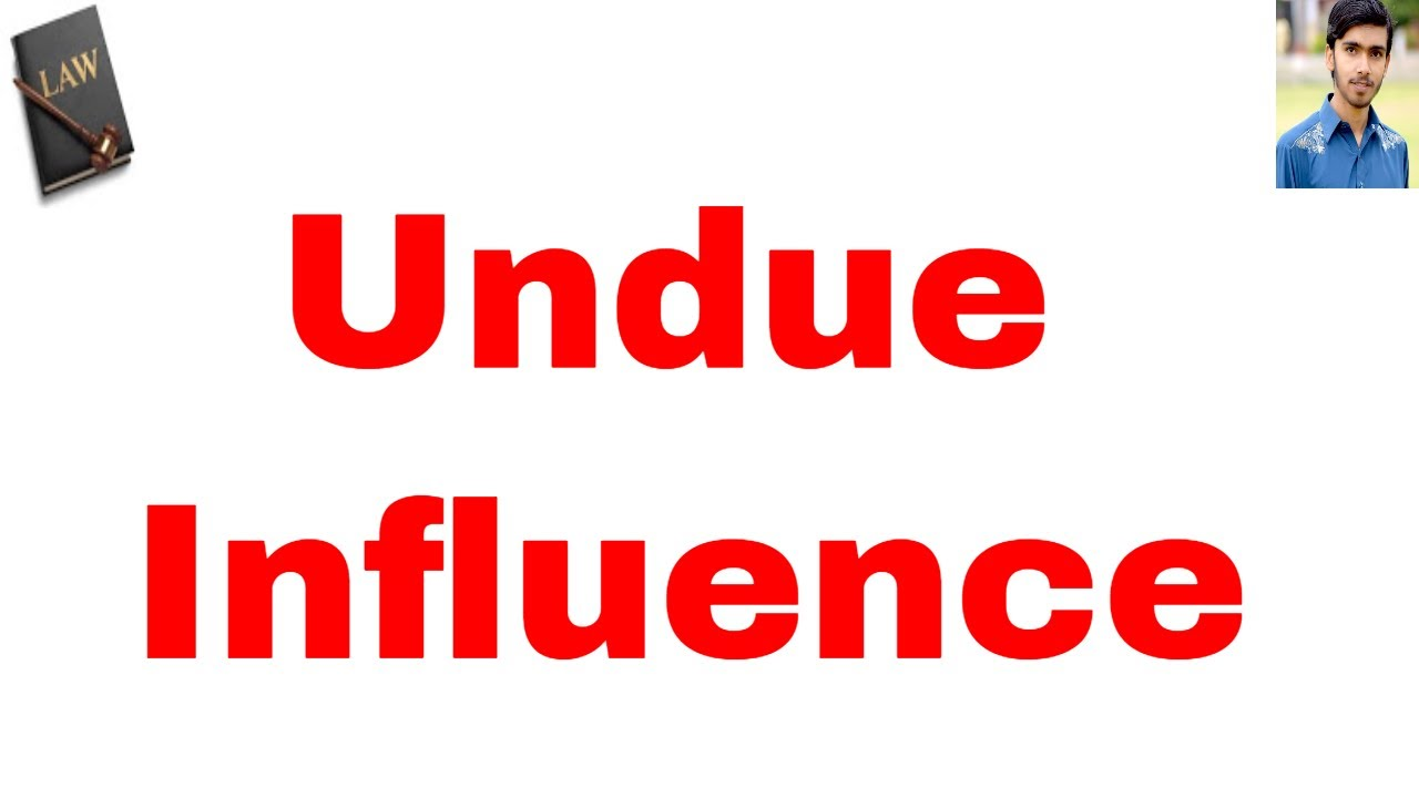 definition of undue influence in hindi and urdu or contract act 1872 part 20