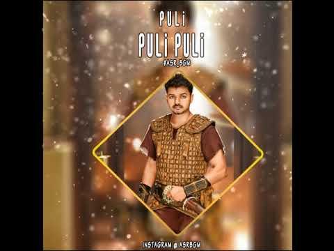 Thalapathy vijay - Into Theme | Puli BGM | Mass BGM | Tamil | Vijay | Whatsapp Status Video - ASR