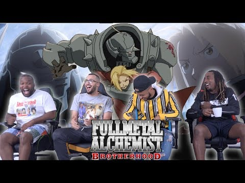 Full Metal Alchemist Brotherhood Episodes 1 & 2 REACTION/REVIEW
