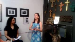 Dr. Heather Silvio at Pen and Palette at The Corner Gallery