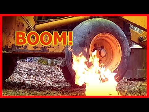 Set Tire Bead with Fire - What Could Go Wrong? (2018)