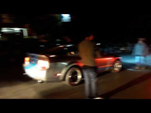 Shelby chocheado y drag radials vs 335i chocheado 1er jale  Arrancones en cartuchos