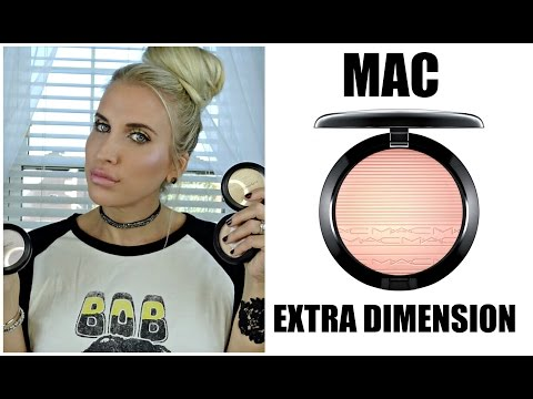 NEW MAC EXTRA DIMENSION HIGHLIGHTERS + Current Favs:)