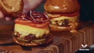 #MLAVKA Классический бургер Мясной лавки
