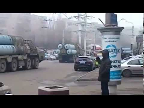 Ukrainian anti-air defense system S-300 in Odessa today