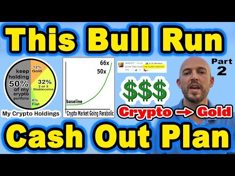🔵 Crypto Bull Run - Cash Out Plan (PART 2) - Trade Crypto Into Gold - Real Estate