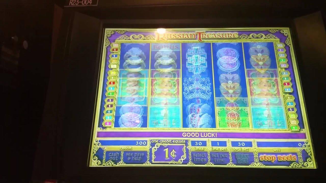 Russian Treasure Slot Machine