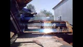 Firetruck Flatbed Progress Update, A Welding Fool