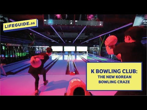 K Bowling Club: Introducing the new Korean Bowling Craze @ Somerset 313, Singapore