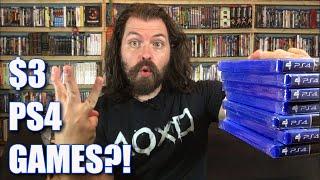 Three Dollar Playstation 4 Games At Walmart! ($3 PS4 Deals!)