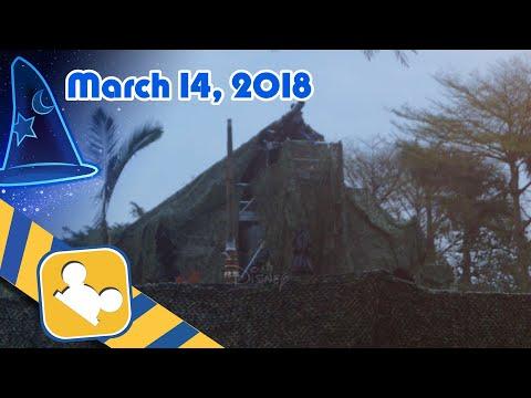 Construction Update:NEW Adventureland Show Place | Hong Kong Disneyland (March 14, 2018)