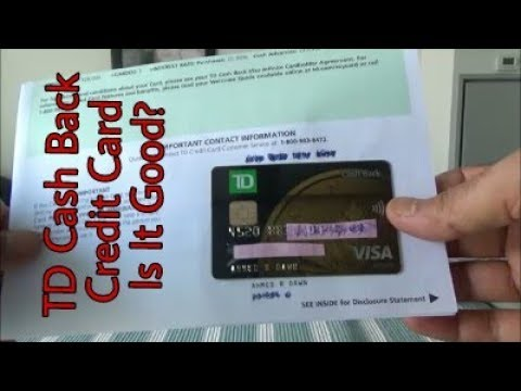Honest & Non-Affiliated | TD Cash Back Visa Infinite Credit Card Unboxing & Review